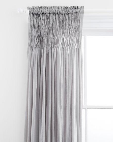 Heirloom Voile Curtain Panel, 96