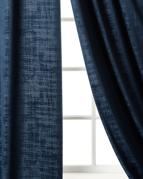 "Manhattan Velvet Curtain, 96""L"