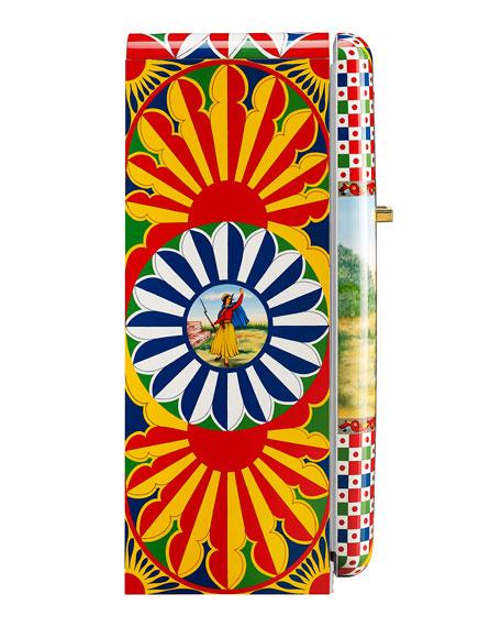 Dolce Gabbana x SMEG Giuseppe Garibaldi: The Hero of Two Worlds Refrigerator