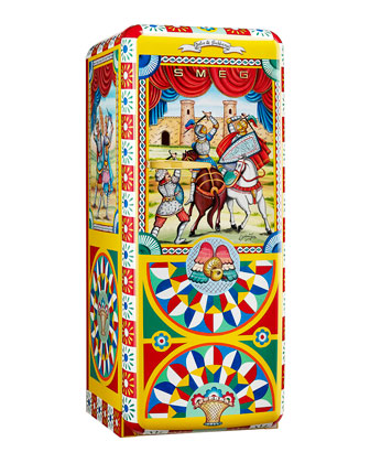 Dolce Gabbana x SMEG Sicilian Spectacle Refrigerator