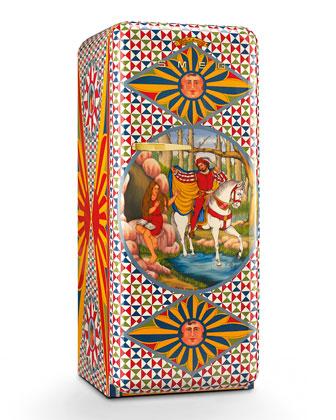 Dolce Gabbana x SMEG Saint Genevieve Refrigerator