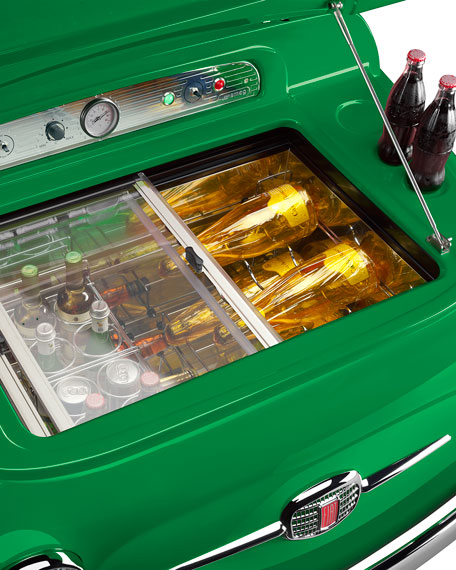 FIAT X SMEG Green Electric Cooler