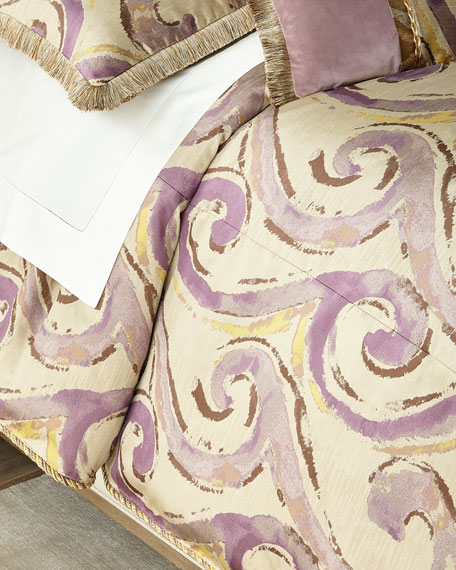 Dian Austin Couture Home Wisteria Scroll King Duvet