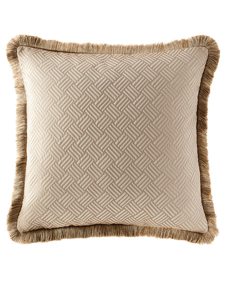 Wisteria Scroll Geometric European Sham