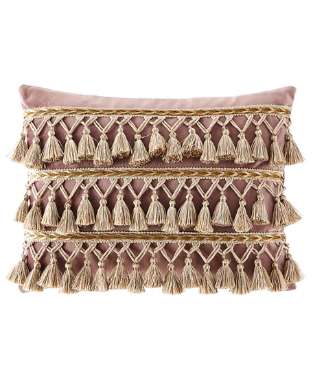 Dian Austin Couture Home Wisteria Scroll Velvet Pillow