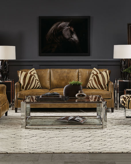 Edmond Leather Sofa