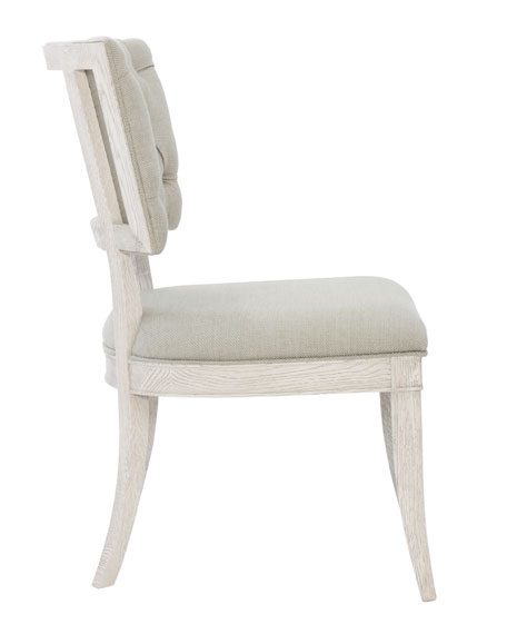 Pair of Damonica Tufted Side Chairs