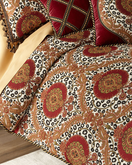 Maximus Medallion King Duvet