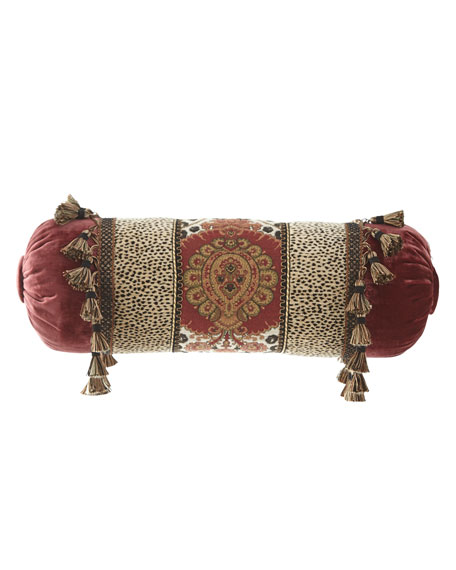 Dian Austin Couture Home Maximus Neck Roll Pillow