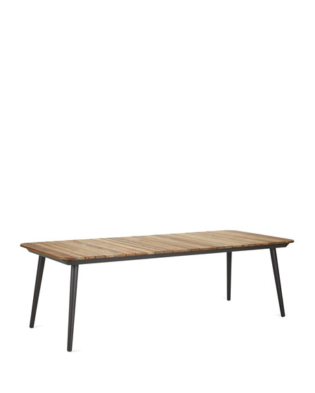 Darrow Recycle Teak Dining Table