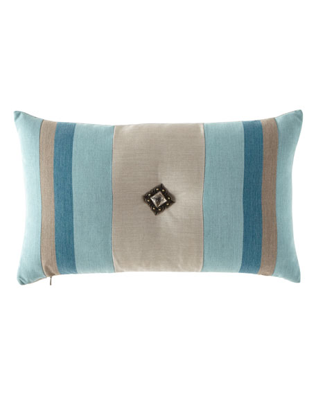 Colorblock Lagoon Pillow, 12
