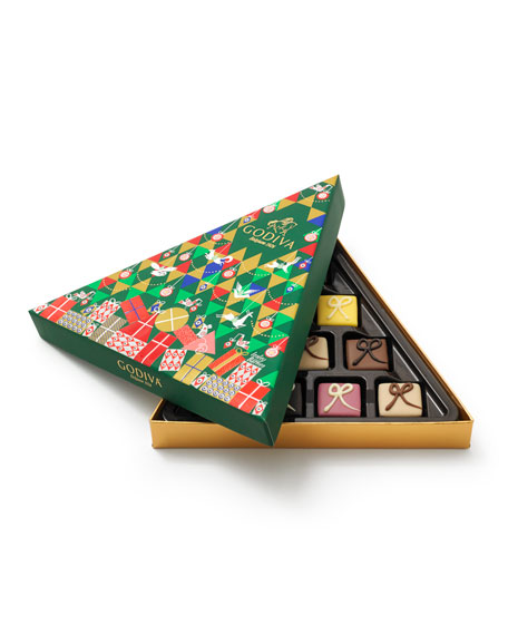 Petit Four 10-Piece Tree Gift Box