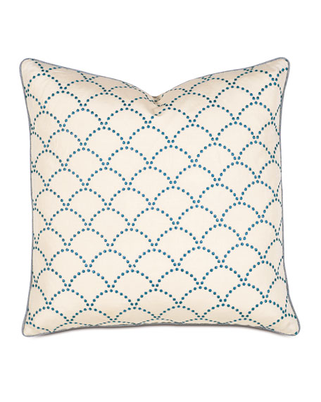 Charleston Decorative Square Pillow