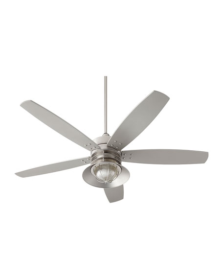 Portico Patio Fan, Silver