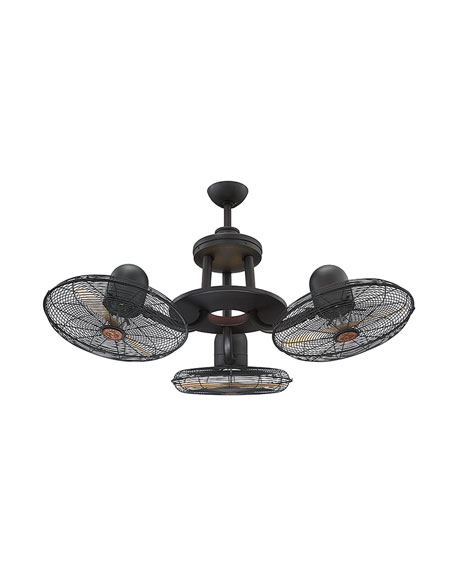 Circulaire Discus 3-Headed Fan