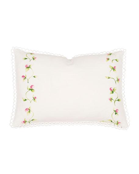 "Budding Spring Pillow, 12"" x 18"""