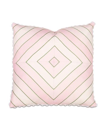 "Budding Spring Pillow, 20""Sq."