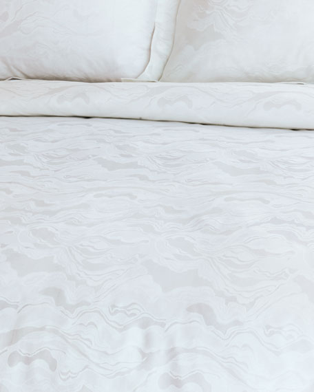 Stratus Cloud Queen Duvet Cover