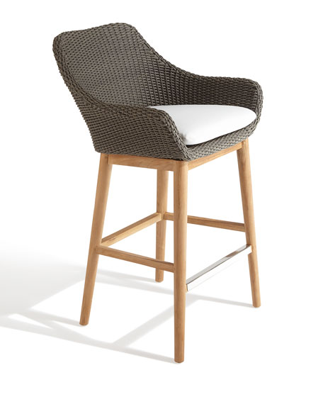 San Remo Outdoor Barstool, 30""