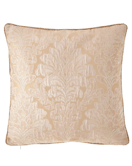 "Aurora Corded Pillow, 20""Sq."