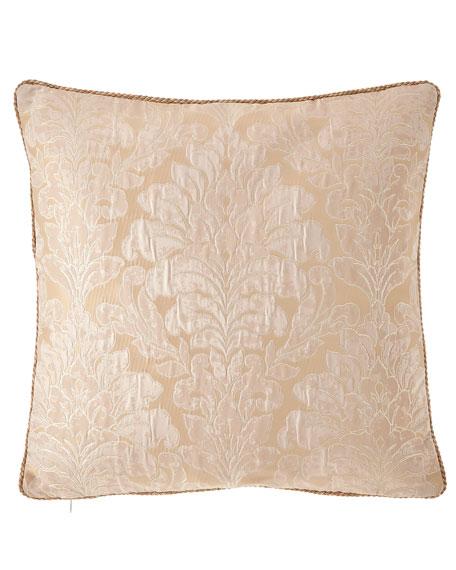 "Aurora Corded Pillow, 20""Sq."