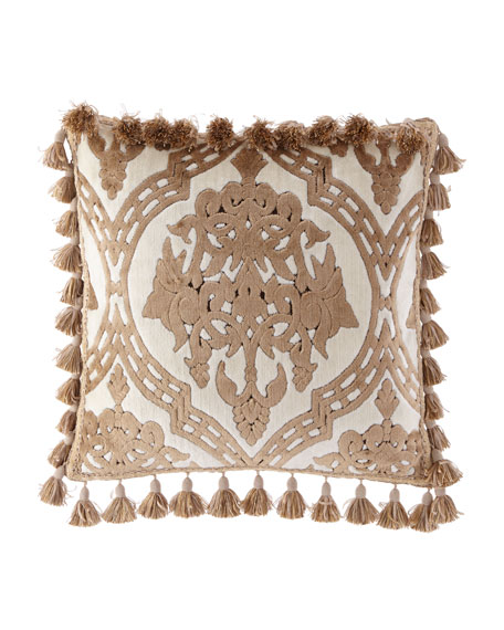 "Versaille Decorative Pillow, 20""Sq."