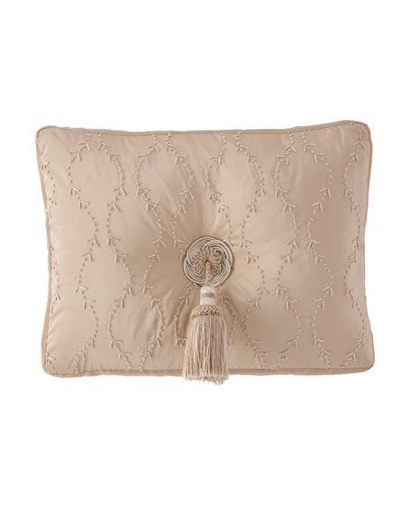 Knotted Boudoir Pillow, 13