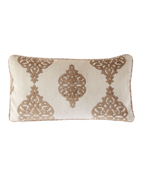 "Versaille Lumbar Pillow, 13"" x 24"""