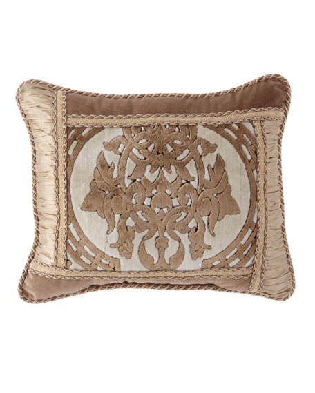 "Versaille Multi-Patched Pillow, 16"" x 20"""