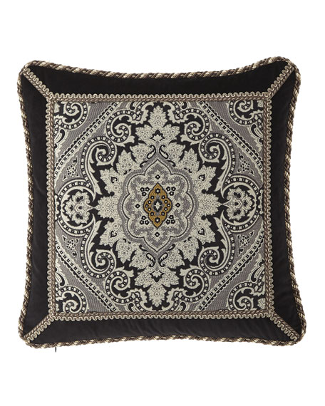 "Rockwell Pillow, 18""Sq."