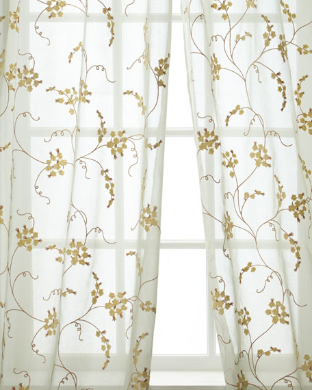 Micro Cotton Organdy Drape, 108""