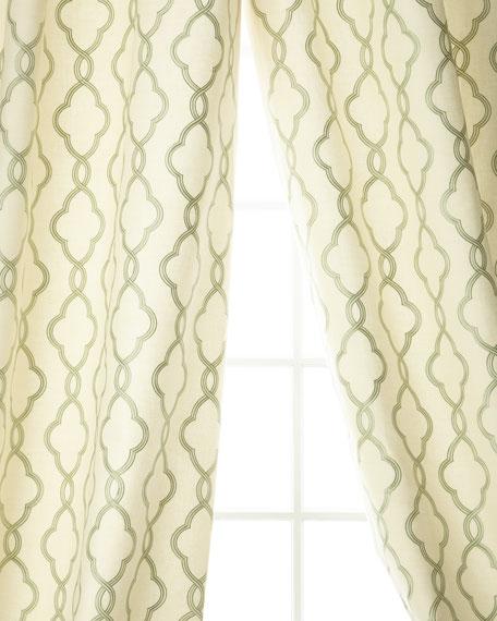 "Plazo Linen/Cotton Drape, 96""L"