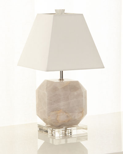 Mini Faceted Marble Lamp
