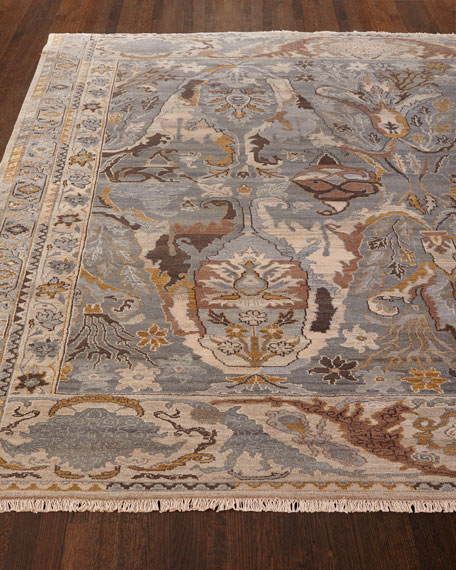 """Amata Hand-Knotted Rug, 8"""" x 10"""""""