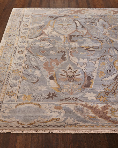Amata Hand Knotted Rug, 8