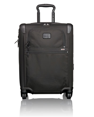 Continental Expandable 4-Wheel Carry-On Luggage, Black