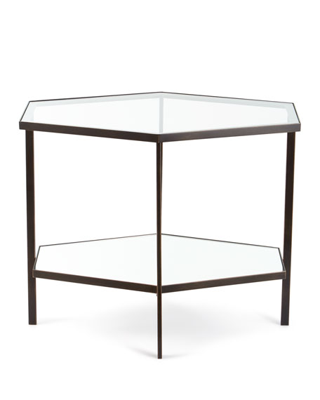 Fatima Tall Hexagon Side Table