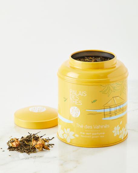 Thé des Vahinés Tea – Green Tea Vanilla, Almond, Rose