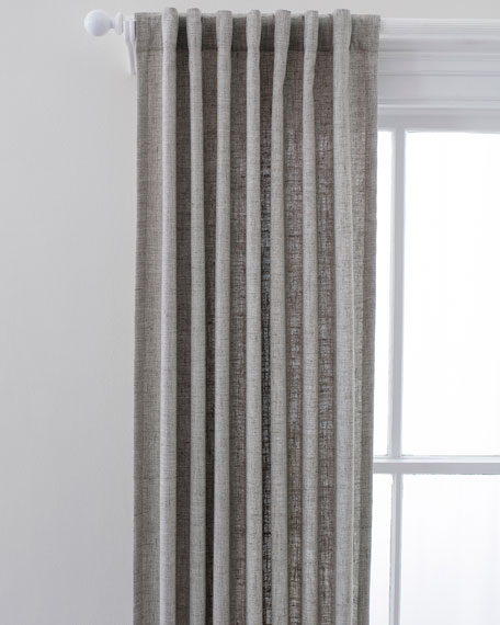 "Lock Indoor/Outdoor Curtain Panel, 48"" x 120"""