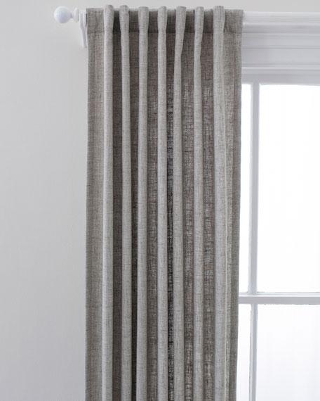"""Lock Indoor/Outdoor Curtain Panel, 48"""" x 120"""""""