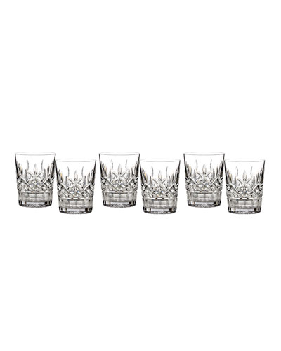 Lismore Double Old-Fashioneds  Set of 6