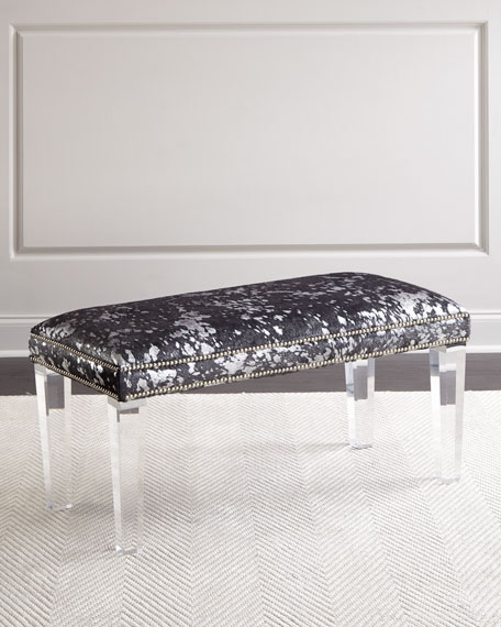 Massoud Kofi Hairhide Bench, 40
