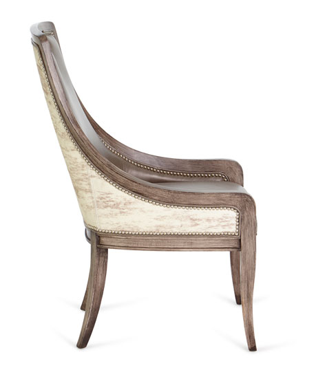 Silvana Leather Dining Chair