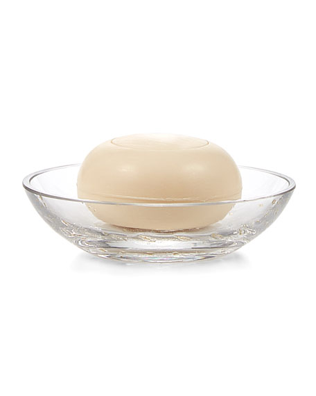 Labrazel Contessa Clear Glass Soap Dish