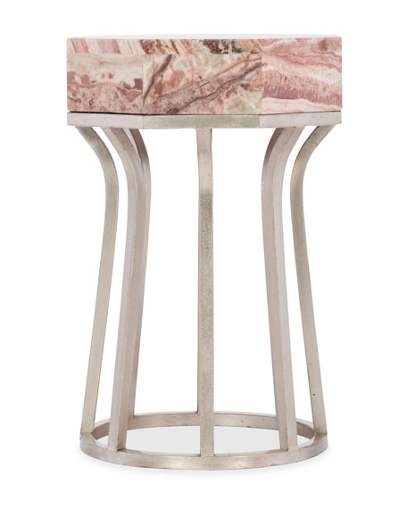 Clair Onyx Top Side Table
