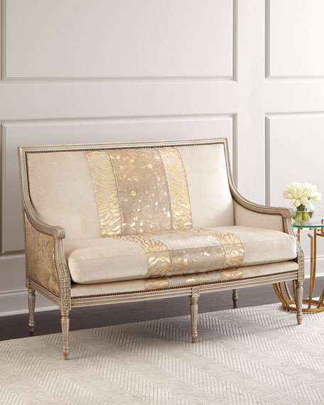 Moud Settee | horchow.com on