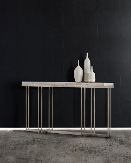 Hooker Furniture Georgina Onyx Top Console Table