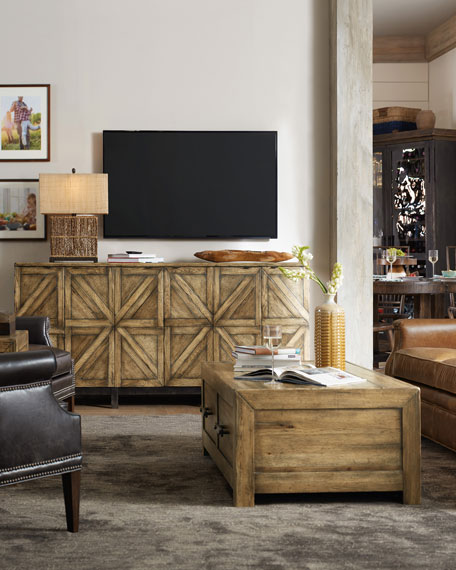 Jeremy Rustic Entertainment Console