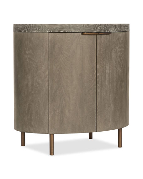 Jia Oval Night Stand