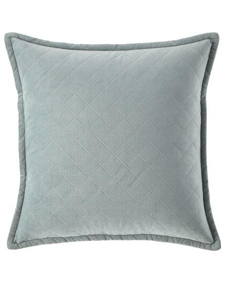 """Elite Velvet Diamond Pillow, 18""""Sq."""